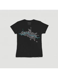 SKP Maalo BLCK, women's t-shirt