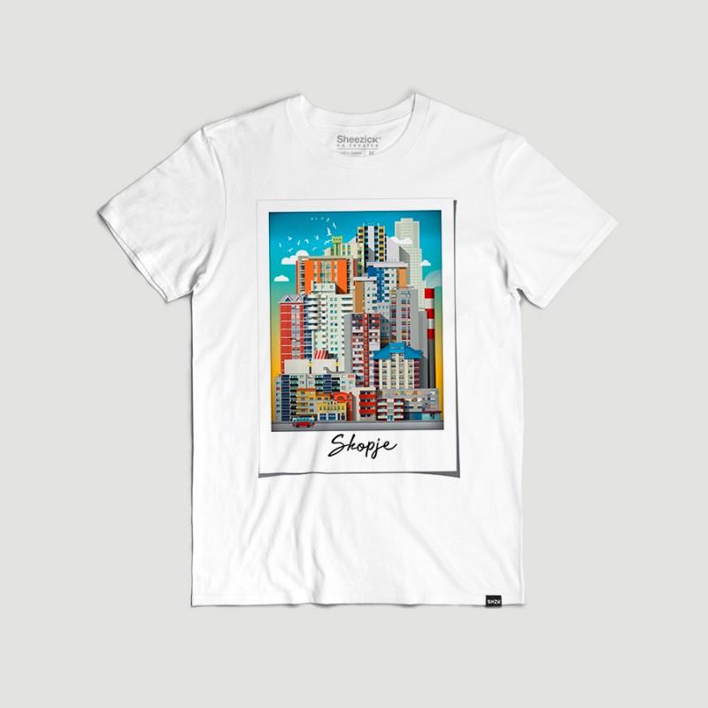 Polaroid, men's t-shirt