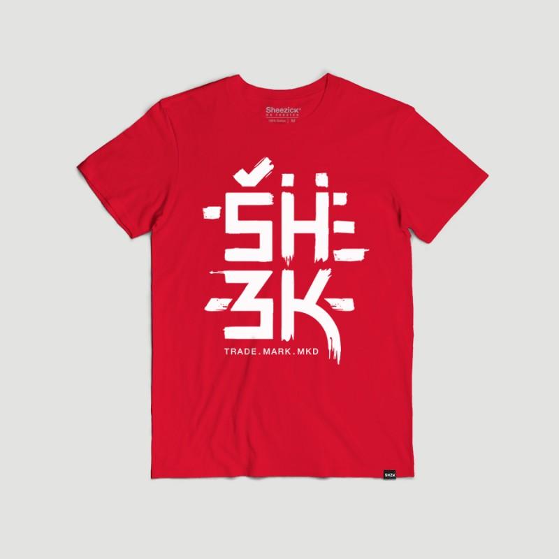 SHZK worldwide, men's t-shirt