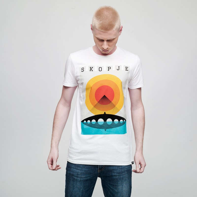 Skopje Summer, men's t-shirt