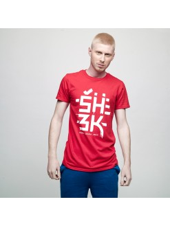 SHZK worldwide, men's t-shirt
