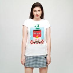 Gradot ubav pak kje nikne, women's t-shirt