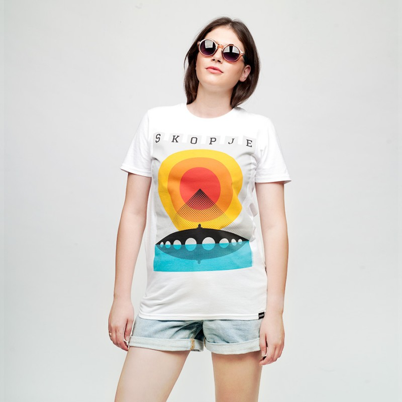 Skopje Summer, women's t-shirt