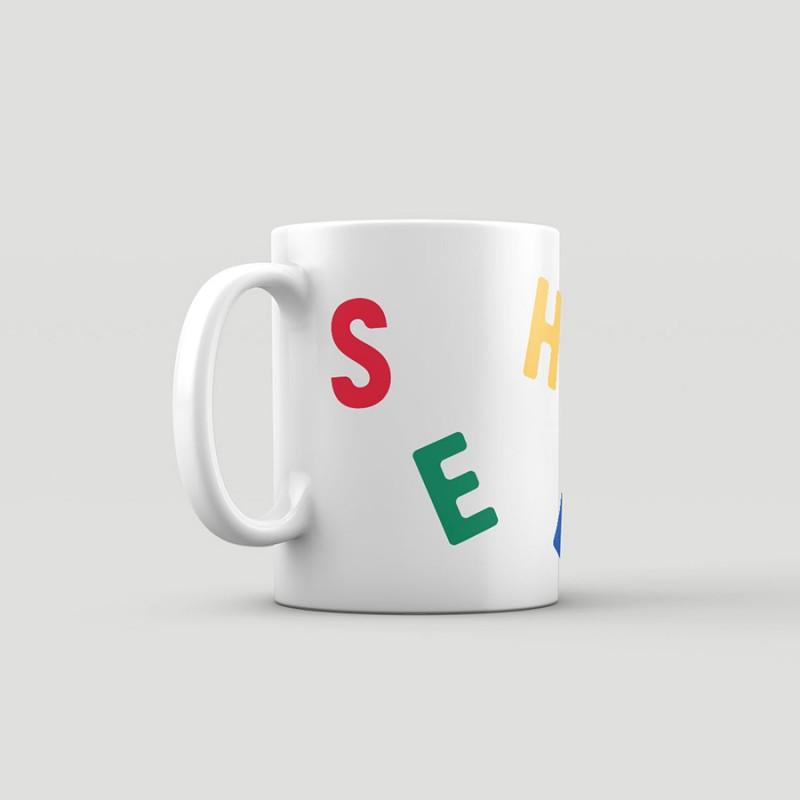 Kindergarten Sheezika, mug