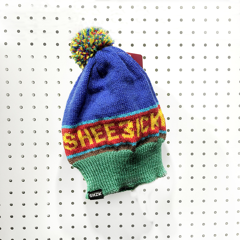 SHZK team, coloured beanie