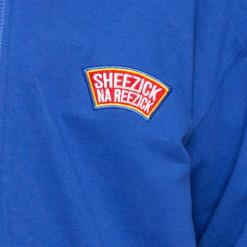 Pioneer, blue hoodie