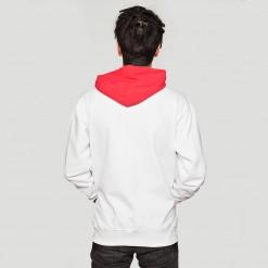 Pioneer, white hoodie