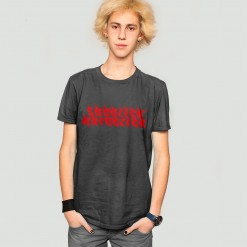 Red Hot Sheezick na reezick, dark grey men's t-shirt