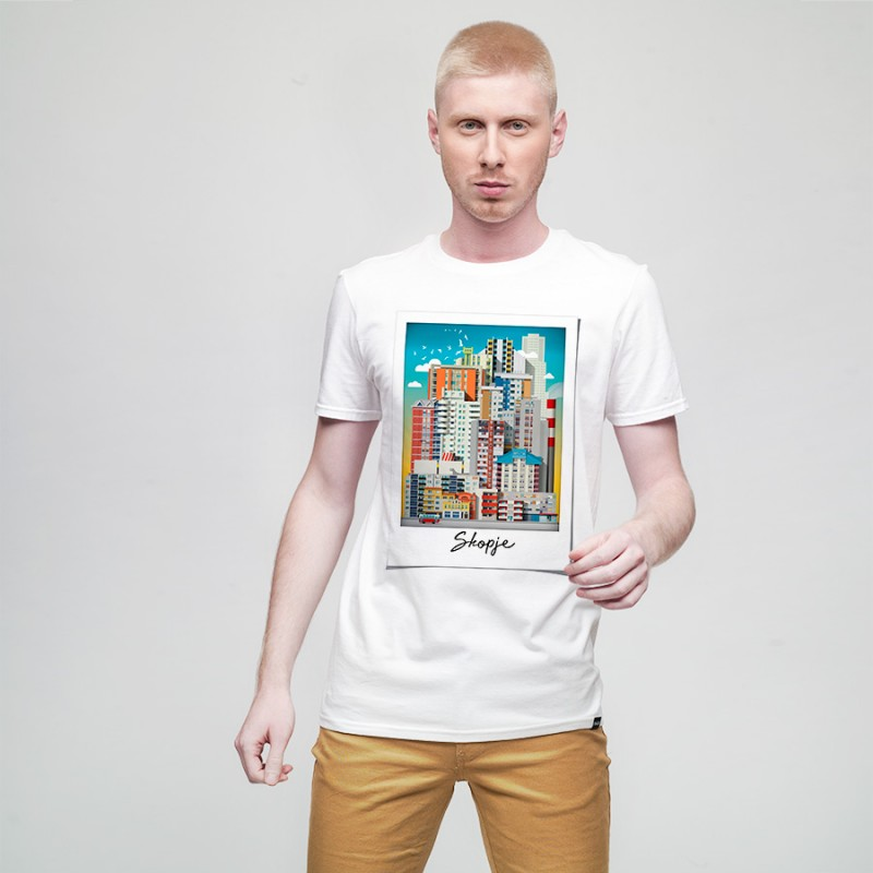 Polaroid, men's t-shirt