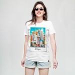 Polaroid, women's t-shirt