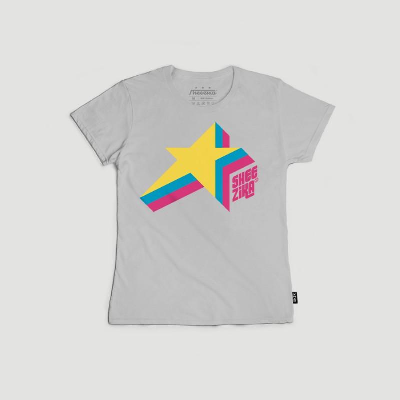 3 Star Sheezika, women's t-shirt
