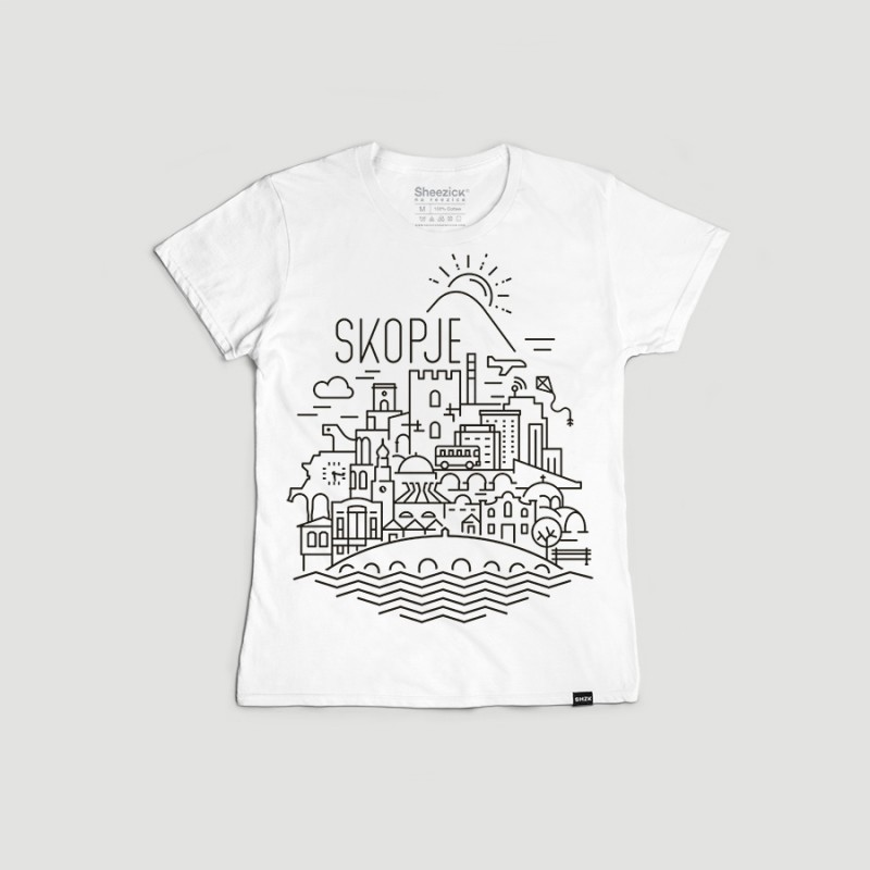 SKP Panorama, women's t-shirt
