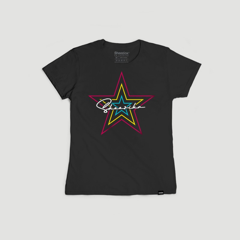 3 Star Sheezika, women's t-shirt