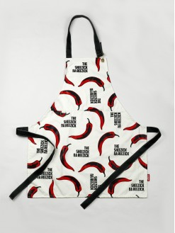 Pepper, apron
