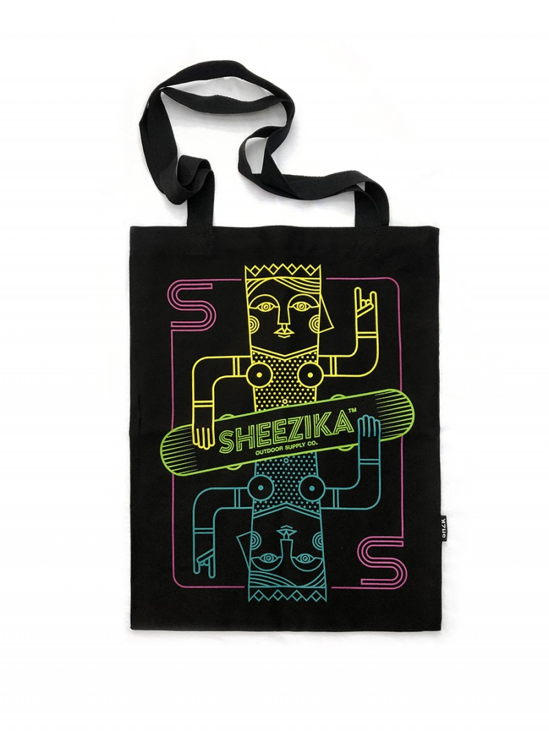 Mother on board, tote bag