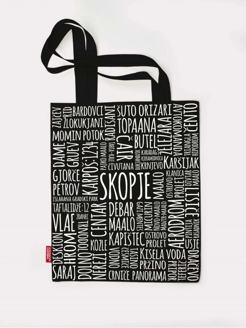 Skopje maalo, tote bag