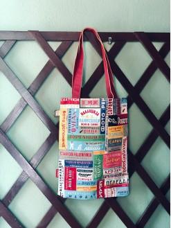 Names, tote bag