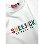Kindergarten, short sleeve sweatshirt
