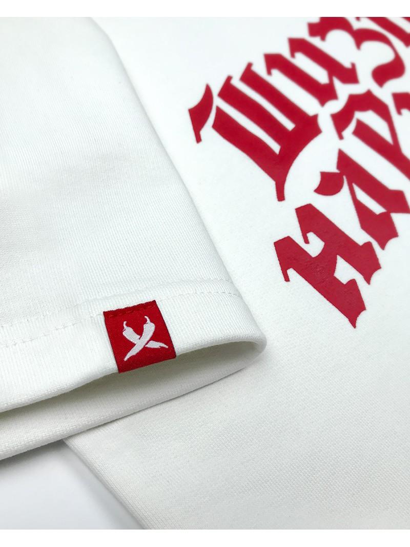 Pirate Pepper Script, short sleeve sweatshirt