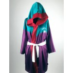 Flag, women's satin hooded robe