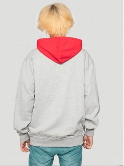 Pioneer, grey hoodie