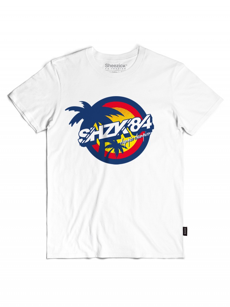 Wrestling Club white, men's t-shirt