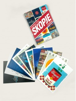 Greetings from Skopje, postcards set