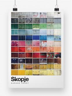 SKP Pantone, poster