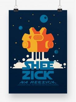SHZK Stars, poster