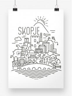 SKP Panorama, poster