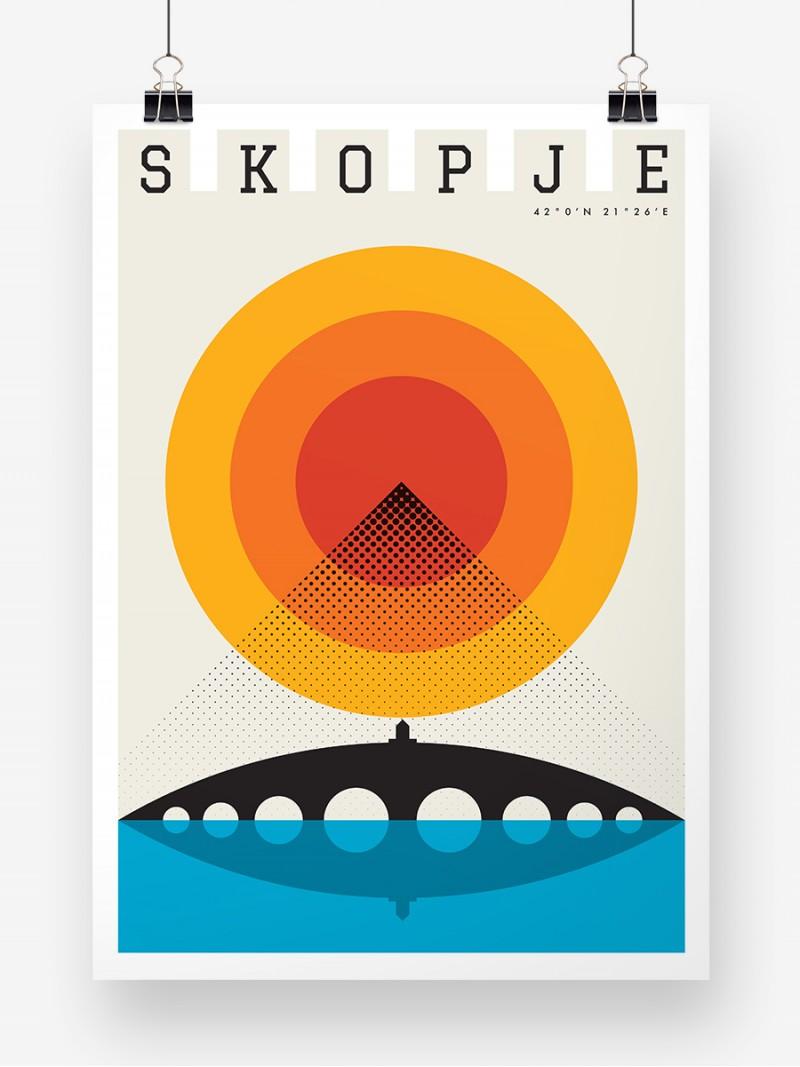 Skopje Summer, poster