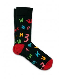 Black Shaggy, socks