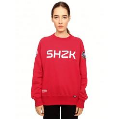 Rogue SHZK, red sweatshirt