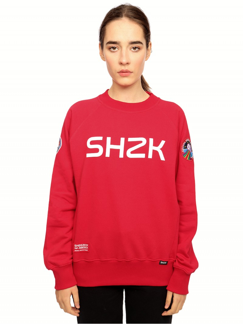Rogue SHZK, red sweatshirt