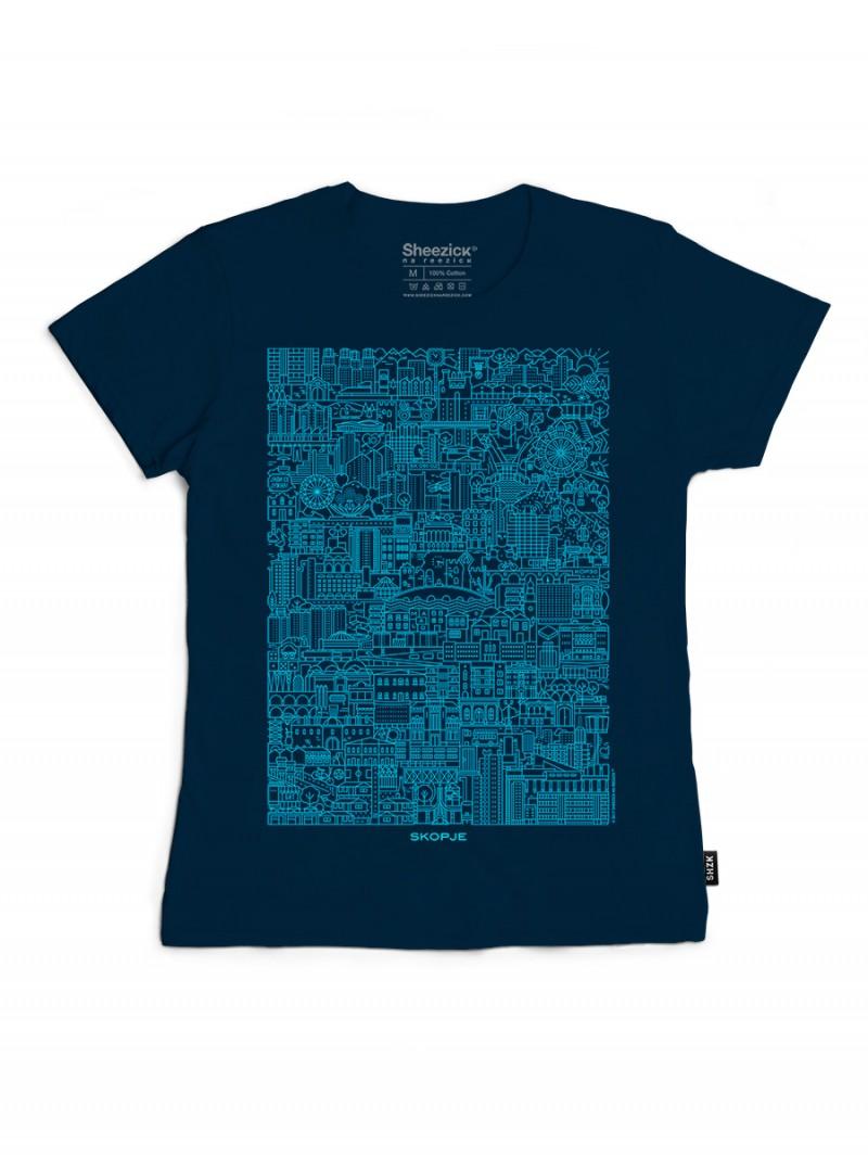 SKP Blueprint, women's t-shirt