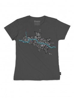 SKP Maalo grey, women's t-shirt