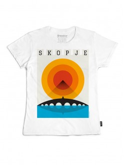 Skopje Summer, women's t-shirt