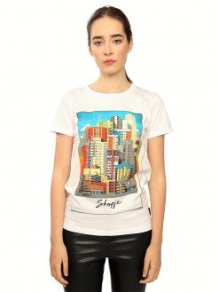 Polaroid, women's t-shirt