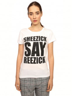 Sheezick say reezick, women's t-shirt
