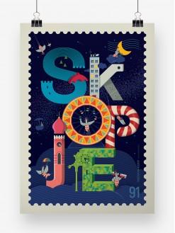 Skopje Flying Circus, poster